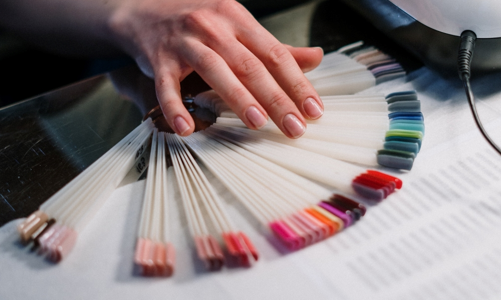couleurs d'ongle